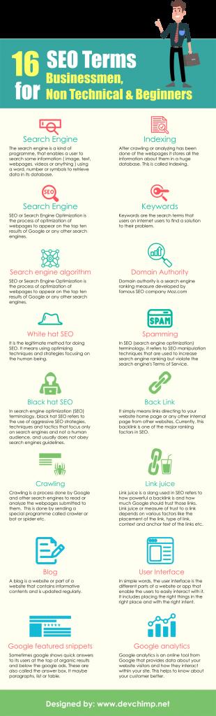 onpage seo infographics