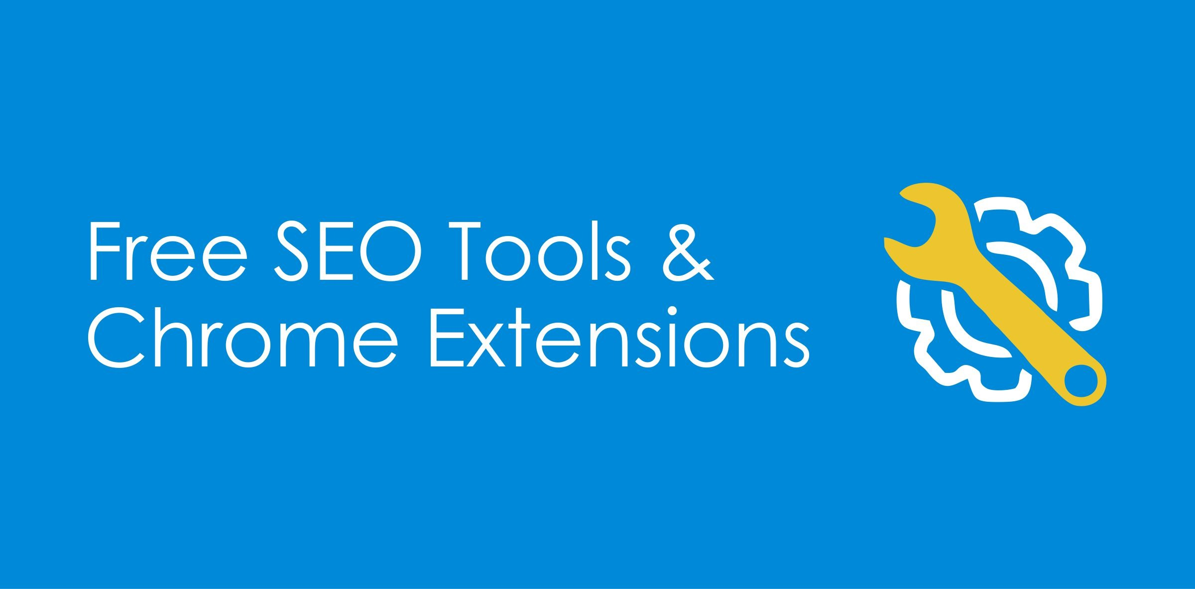 free seo tools and extensions