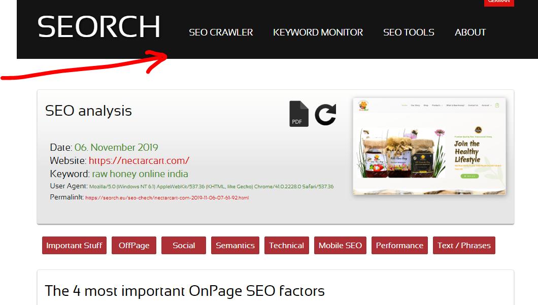seorch